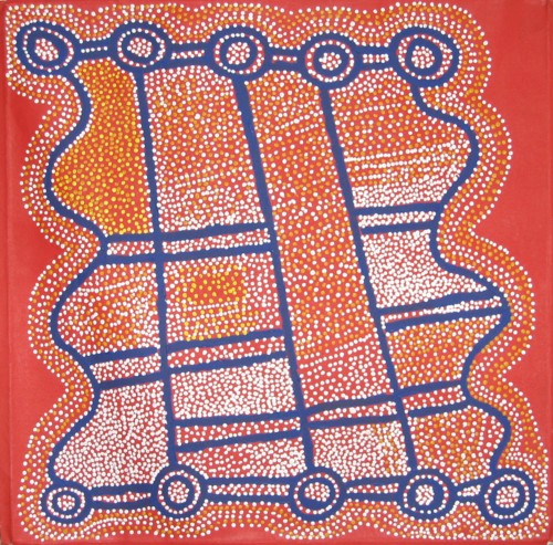 'Water Flows' - Shorty Jangala Robertson
