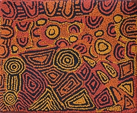 Click to view 'My mother's country' by Maisie Campbell Napaltjarri